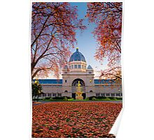 The Royal Exhibition building Poster