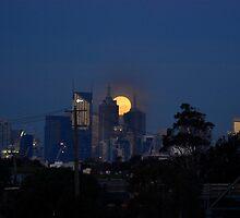 Full Moon by danarosalie