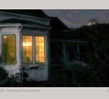 Window Light , Monhegan Island,Maine by Dave  Higgins