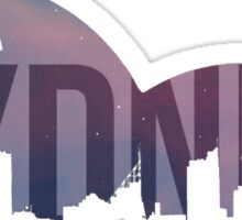 Sydney Skylines Moon Version Sticker