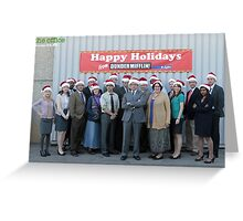 Christmas at The Office Greeting Card
