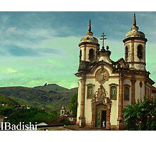 São Francisco de Assis Church, Ouro Preto, Brazil Photographic Print