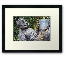 Albert Einstein Memorial Framed Print
