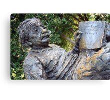 Albert Einstein Memorial Canvas Print