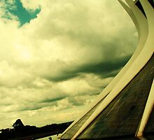 The Metropolitan Cathedral, Brazilia, Brazil by ibadishi