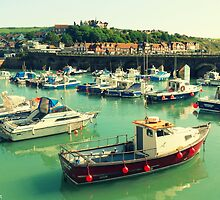 Fishing Boats by Cherry Franklin