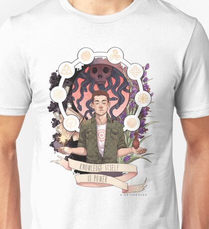 Knowledge Itself is Power Unisex T-Shirt