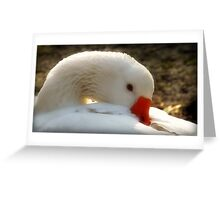 Pretty Goose Greeting Card