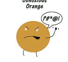 Obnoxious Orange by JHawk23