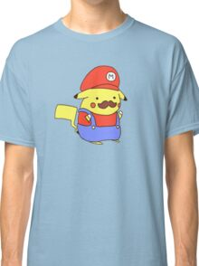 Pikachu/Mario Classic T-Shirt