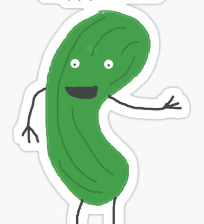 Peppy Pickle Sticker