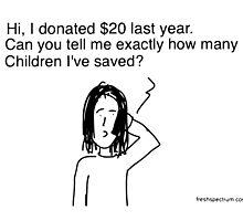 Children Saved by Chris Lysy