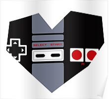 I Heart Gaming - NES Poster