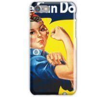 Vintage poster - Rosie the Riveter iPhone Case/Skin