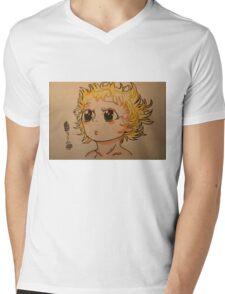 Tima Mens V-Neck T-Shirt