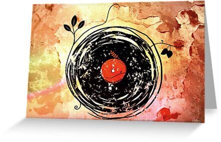Enchanting Vinyl Records Vintage by ddtk