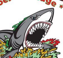 Clerks Shark Salsa Sticker