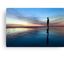 Another Place, Crosby Beach Canvas Print