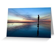 Another Place, Crosby Beach Greeting Card