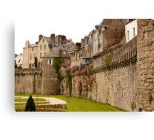 Ramparts de Vannes - Morbihan France Canvas Print