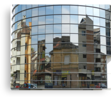Distorted Reflections Canvas Print