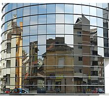 Distorted Reflections Photographic Print