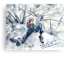 Ireland - Oscar Wilde and Nature Canvas Print
