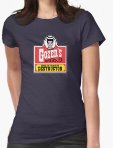 Gozer's - Choose the form of the destructor  Womens Fitted T-Shirt