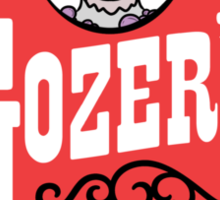 Gozer's - Choose the form of the destructor  Sticker
