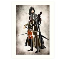Aragorn -  Lord of the Rings Art Print