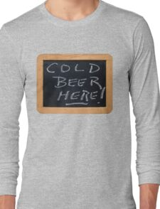 Cold Beer Long Sleeve T-Shirt
