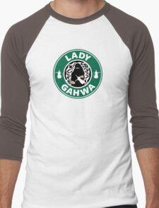 Lady Gahwa Men's Baseball ¾ T-Shirt