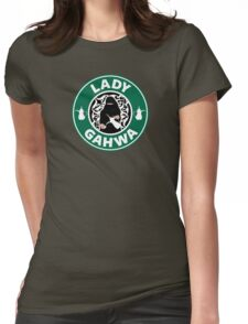 Lady Gahwa Womens Fitted T-Shirt
