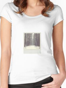 Winter Polaroid Women's Fitted Scoop T-Shirt
