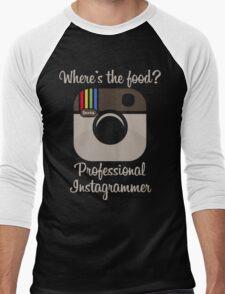 Professional Instagrammer Men's Baseball ¾ T-Shirt
