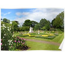 The Walled Garden ,Sunbury on Thames Poster