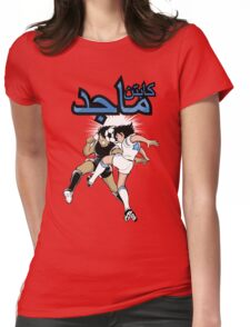 Captain Majed Womens Fitted T-Shirt