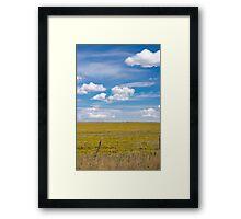 New Mexico landscape. Framed Print