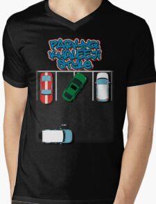 Parking, Khaleeji Style Mens V-Neck T-Shirt