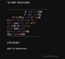Wipeout 2097 Pierre Belmondo Quote Shirt by Tgarncarz