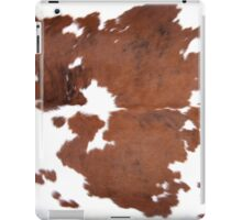 Brown Cowhide iPad Case/Skin