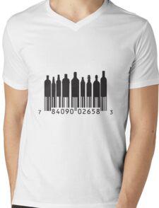 BAR-Code Mens V-Neck T-Shirt