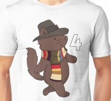 Fourth Doctor Cat — Doctor Who Unisex T-Shirt