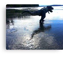 Rex on the Beach Canvas Print