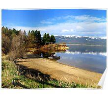 Payette Lake...Cascade Idaho......great fishing Poster