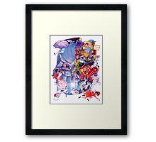 The Childs Dream. Framed Print