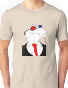 3-D Glasses Raptor Unisex T-Shirt