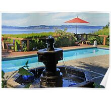 Three Refreshing Water Views Right in the Backyard Poster