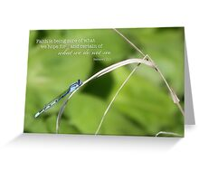 Damselfly – Faith – 2:3 Greeting Card