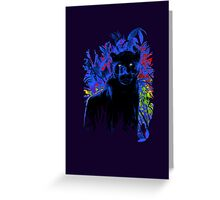 Bright eyes - Black Panther Greeting Card